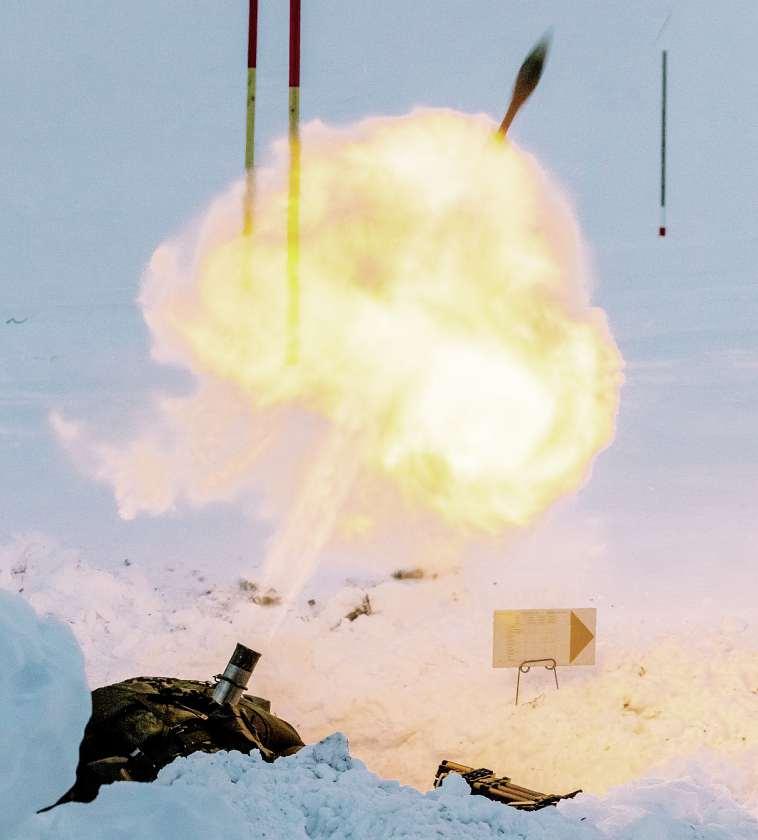 Von Der Unterschatzten Bedeutung Der Minenwerfer Schweizer Soldat